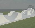 Imagem de Uma nova pista de skate