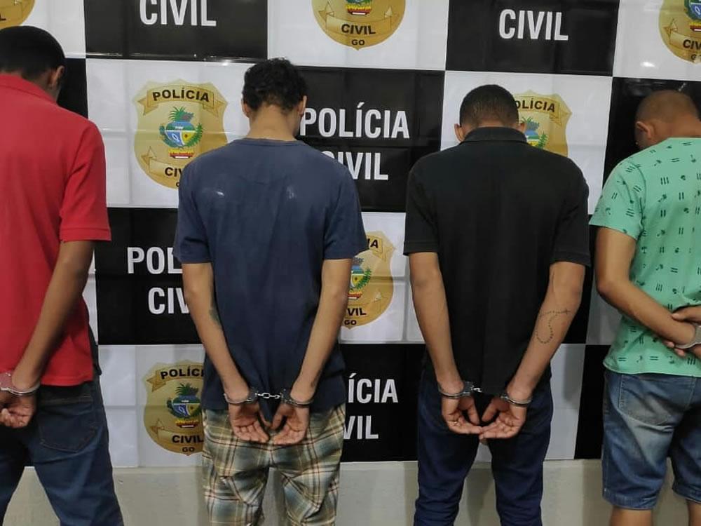 Imagem de Bandidos invadem casa e aterrorizam família em Rio Verde