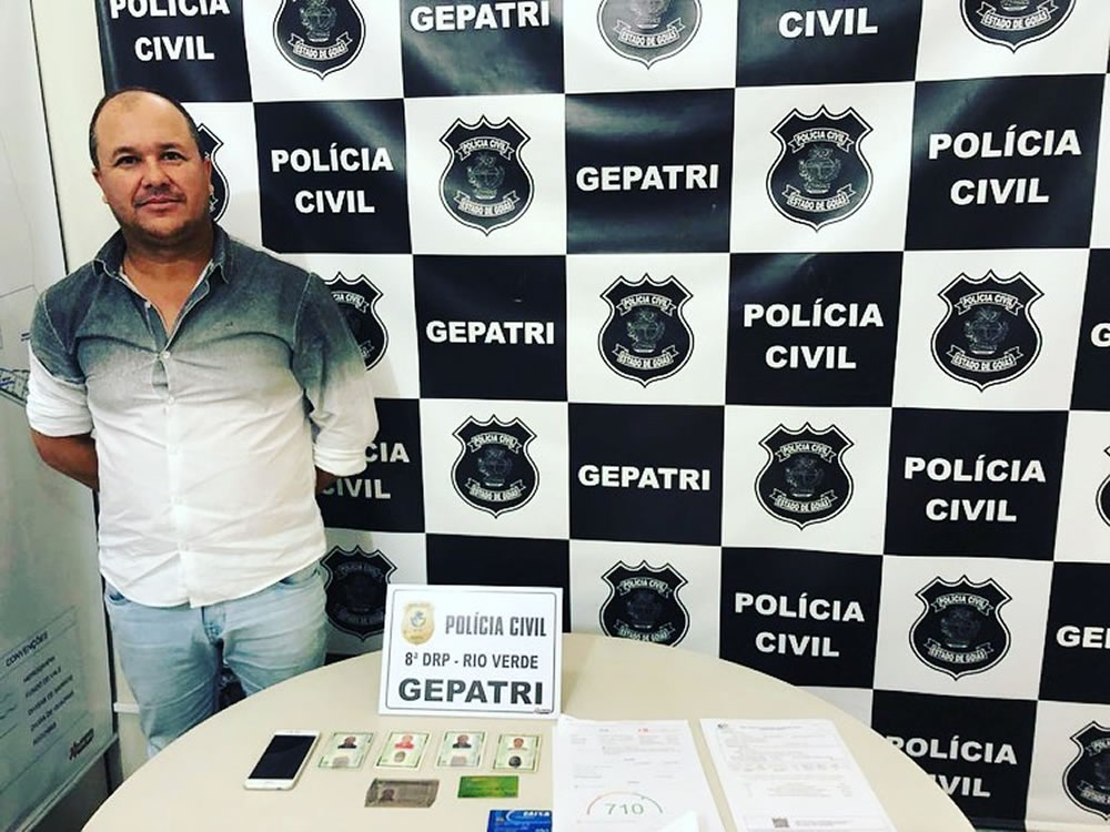 Imagem de Estelionatário preso em flagrante em Rio Verde