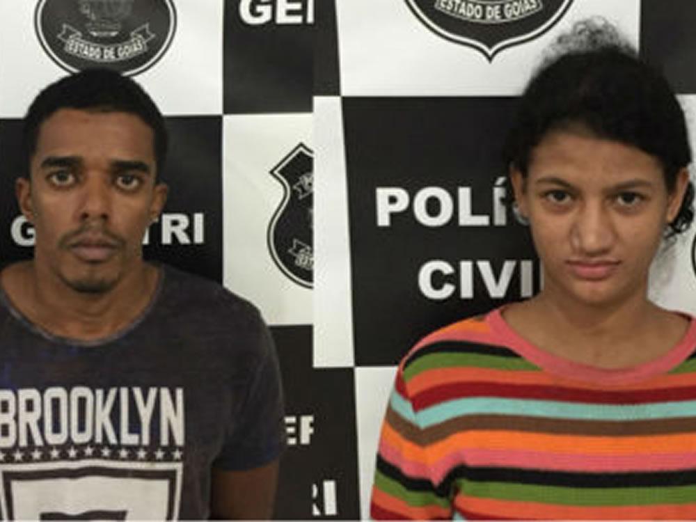 Imagem de Casal de ladrões de carros é preso em Itumbiara