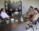 Imagem de Comando da Polícia visita Prefeito