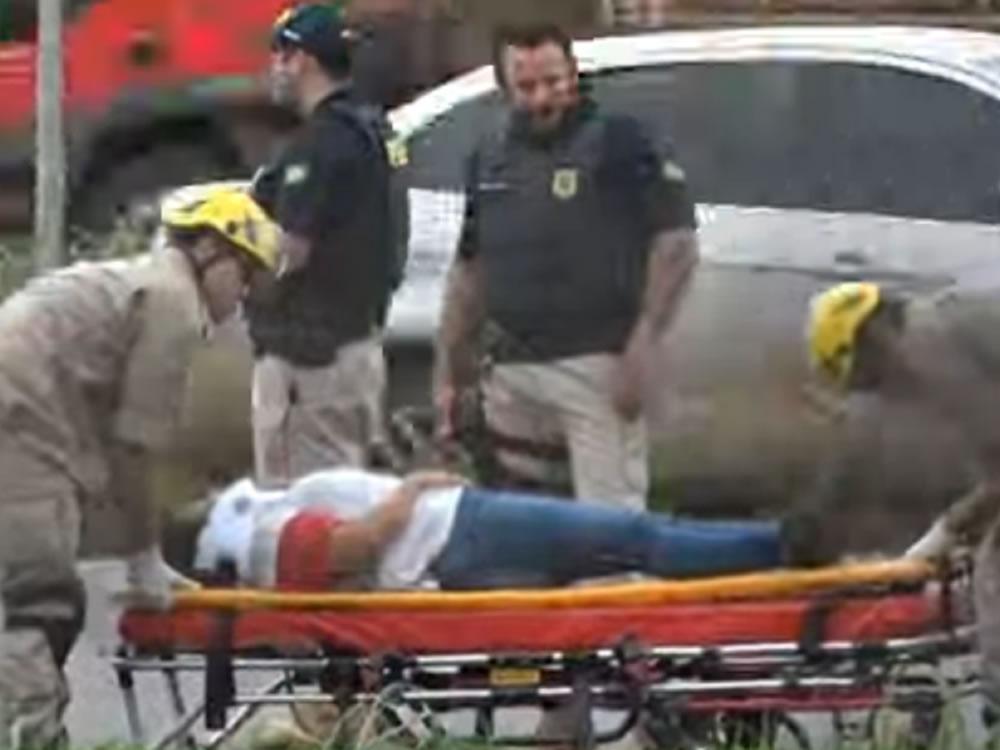 Imagem de Motociclista fica ferida após acidente em Rio Verde