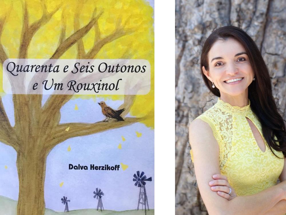 """Imagem de Escritora goiana lança livro, """"Quarenta e Seis Outonos e Um Rouxinol"""", em Quirinópolis"""