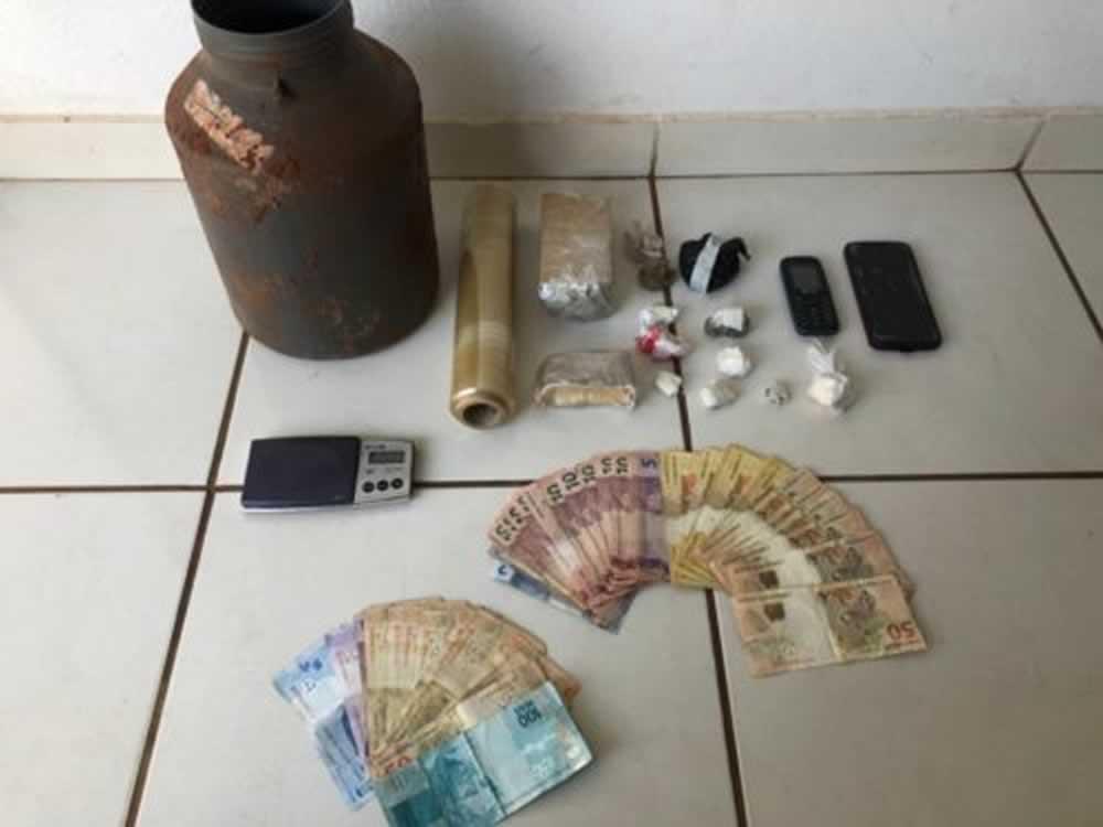 Imagem de Polícia Civil prende em Caçu dois suspeitos de tráfico