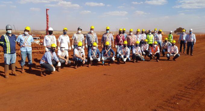 Imagem de Empreendedores visitam canteiro de obras da Plataforma Multimodal de Rio Verde