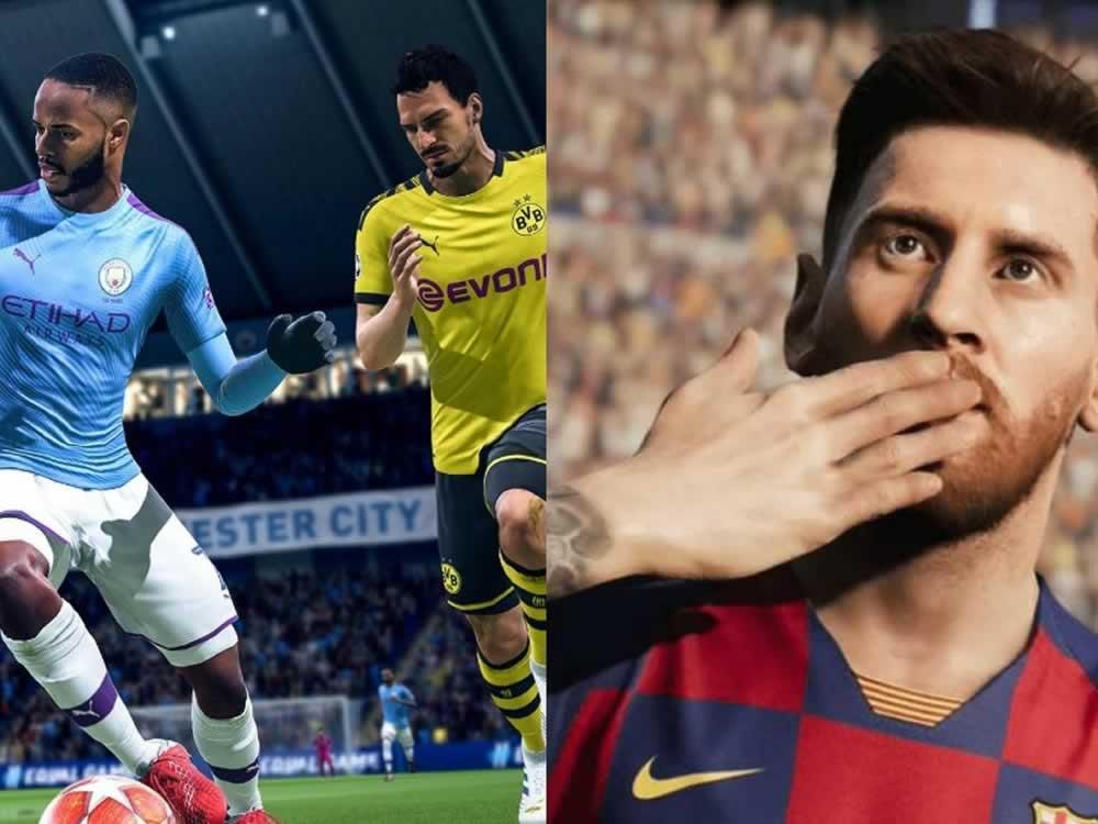 Imagem de PES 2020 vs. FIFA 20: as principais exclusividades dos games de futebol
