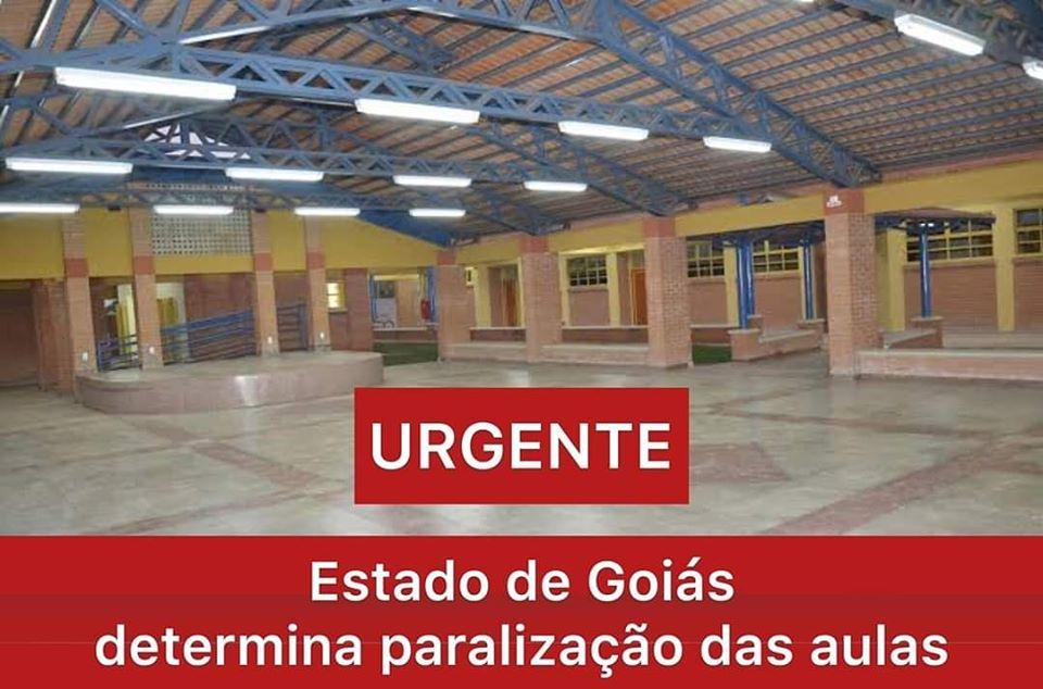 Imagem de Governo do estado paralisa escolas em Goiás