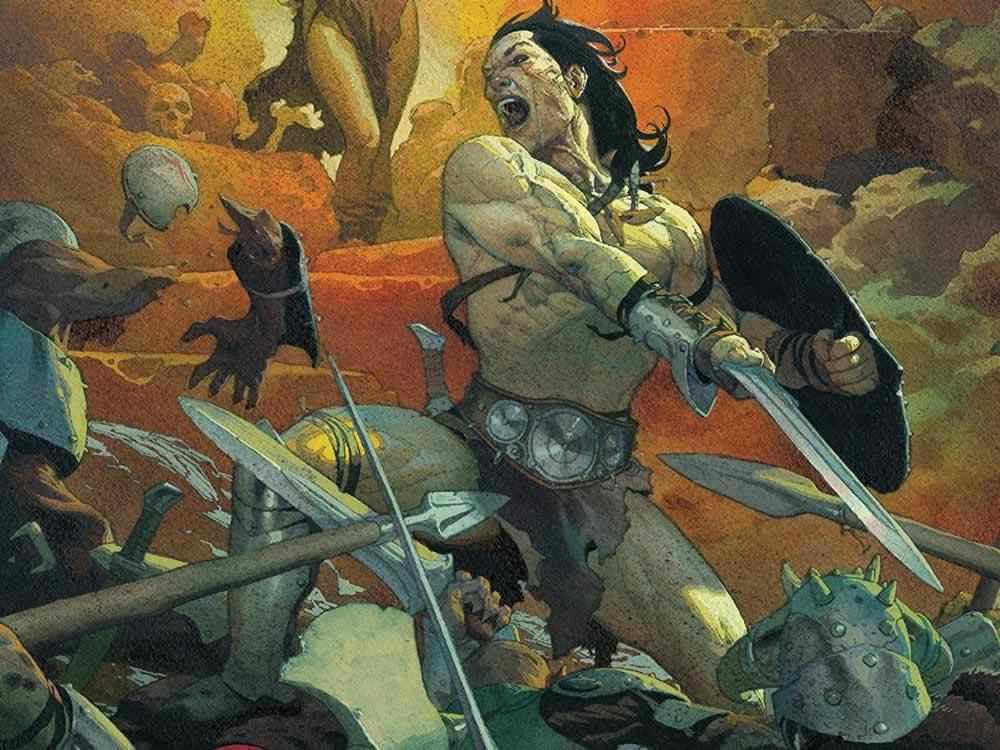 Imagem de Retorno de Conan a Marvel traz, também, o espírito do personagem