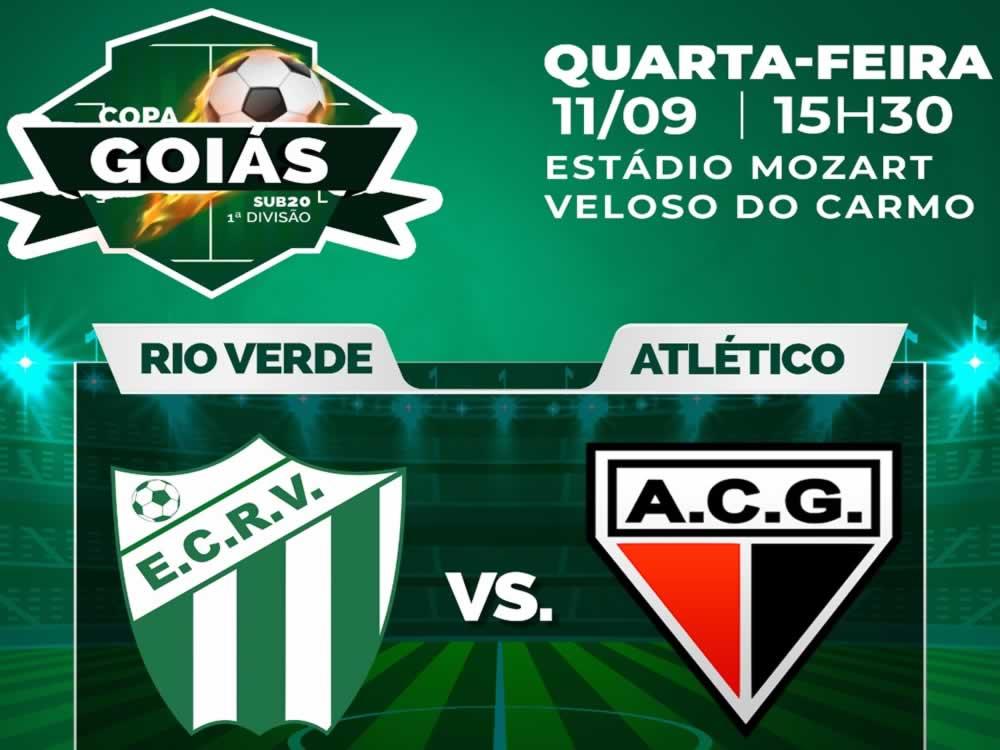 Imagem de Rio Verde encara Atlético pela Copa Goiás Sub-20