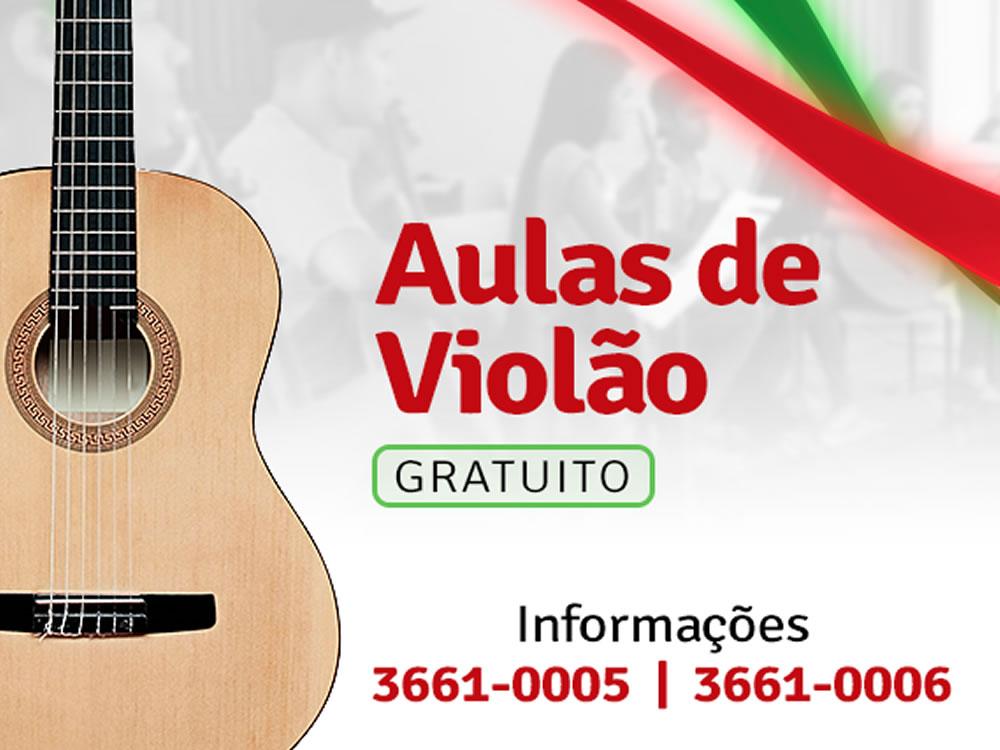 Imagem de Prefeitura de Mineiros oferece aulas gratuitas de violão