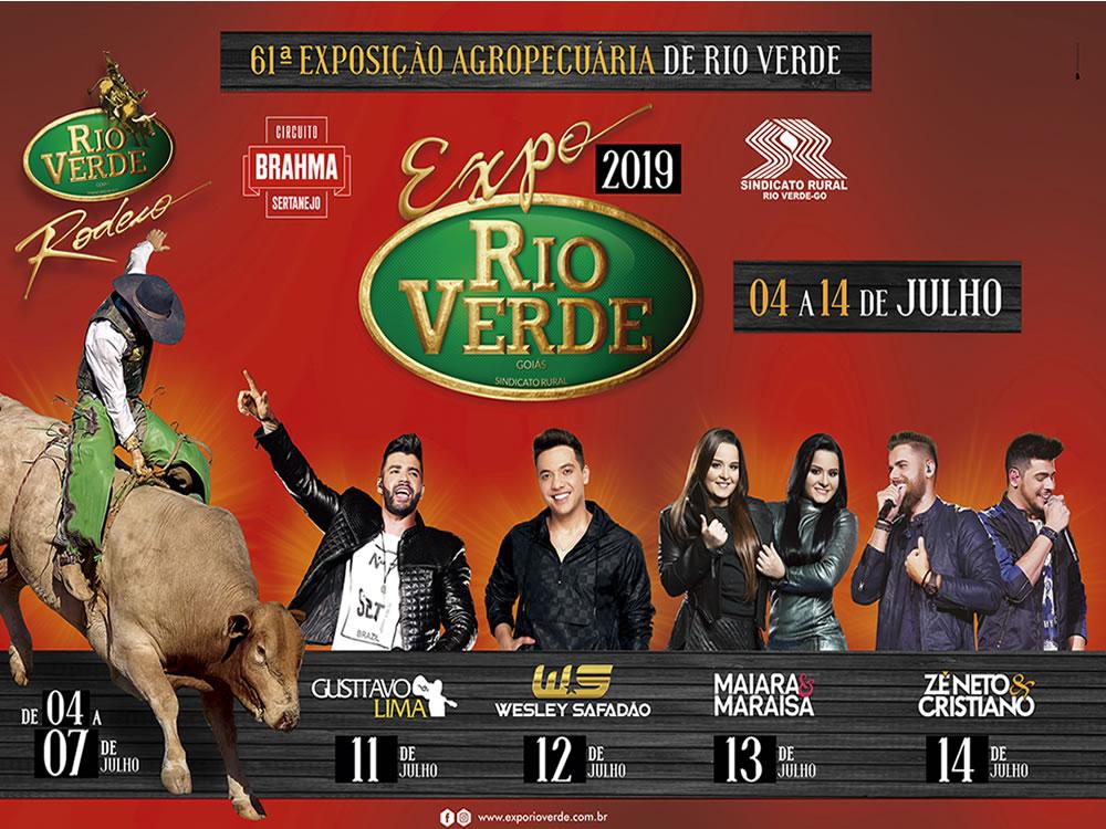 Imagem de Expo Rio Verde 2019 oficialmente lançada