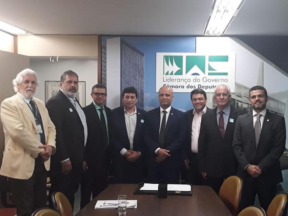 Imagem de Chico KGL participa de reuniões com lideranças em Brasília