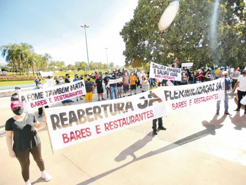 Imagem de Mesmo após reabertura do comércio, consumo caiu em Rio Verde