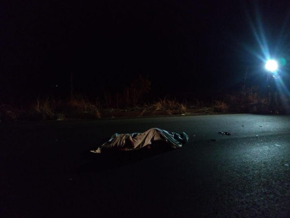 Imagem de Vítima não identificada morre em atropelamento na GO-184